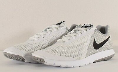 4709c15edfed Nike Men s Flex Experience RN 6 Running Shoe White  Black-Wolf Grey (881802