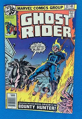 Ghost Rider 32 October '78 vs Bounty Hunter  Uncertified Very Fine Condition