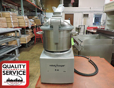 Robot Coupe R10 Commercial Table Top Cutter / Food Processor