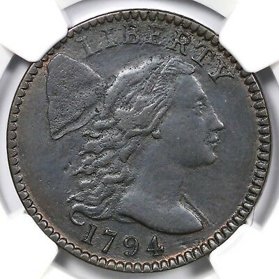 1794 S-67 R-3 NGC VF Details Liberty Cap Large Cent Coin 1c