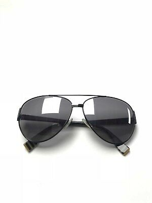 ad3e5181 FENDI FF 0018/S 7SBNQ Sunglasses Black Frame Gray Mirror Silver Lenses 60mm