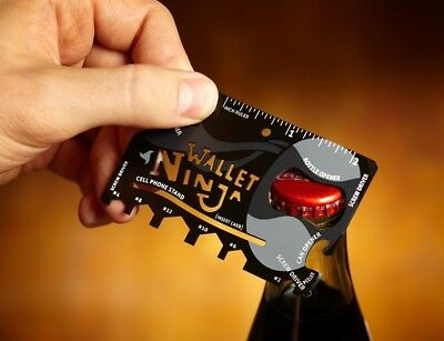 Multi Tool Credit Card Size Bottle Opener Box Opener Screwdriver