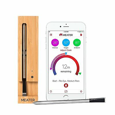 MEATER 100% Wireless Meat Thermometer via Bluetooth for iPhone & Android