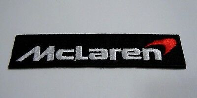 McLaren Iron-On Embroidered Automotive Car Patch 4.25""