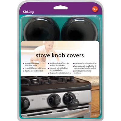 KidCo Stove Knob Covers provide protection from little ones turning stove knobs