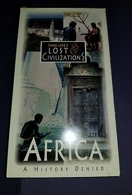 VHS NEW TIME LIFE LOST Civilizations Africa A History Denied  Zimbabwe Swahili