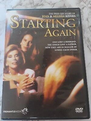 Starting Again DVD MOVIE True Life Story of Joan Rivers + Melissa Rivers