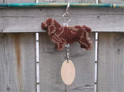 Sussex Spaniel dog crate tag or hang anywhere handmade pet sign any day ornament