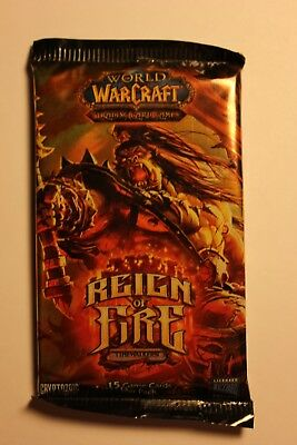 World of Warcraft TCG: Reign of Fire Booster Pack x1 - Brand New (Sealed)