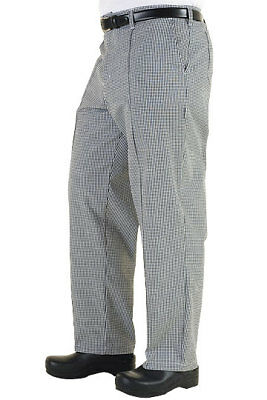 NWT Chef Works Cooks Pants - BWCP-000-34 Checkered Size 34