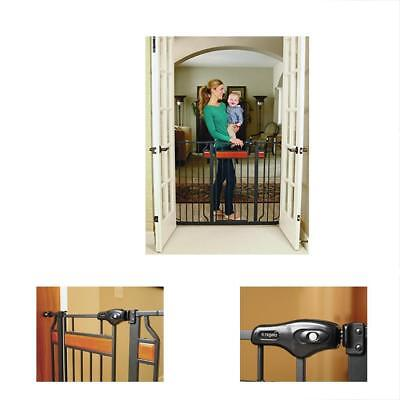 NEW Regalo Home Accents Extra Tall Walk Thru Gate Baby Dog Cat Safety FASTSHIP