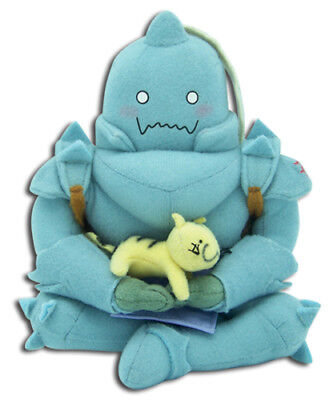 **Legit** Fullmetal Alchemist Authentic Anime Plush Alphonse Al with Kitty #6940