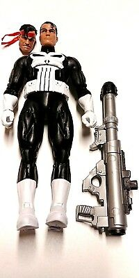 Marvel Legends PUNISHER Loose Complete Vintage Series Spiderman Wolverine Retro