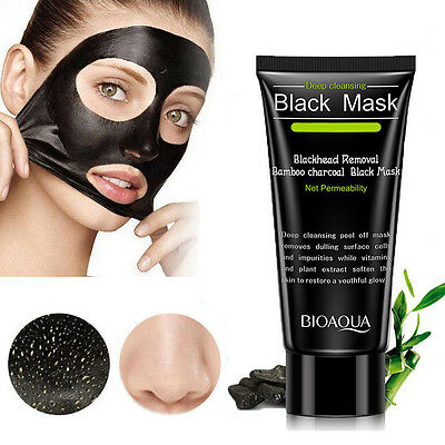 Purificador Negro Mascarilla Peel Off Extractor de Puntos Facial Clean Carbón