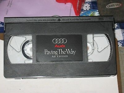 Audi VHS  Paving the Way A 6 Edition Classic Audi 50 Front Wheel Drive Quattro