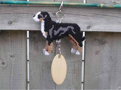 Greater Swiss Mountain mt Dog crate tag or hang anywhere handmade sign ornament