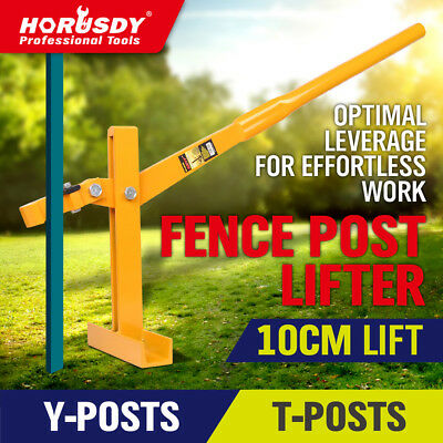 Fence Post Lifter Puller Star Picket Remover Steel Pole Fencing Farming Tool New