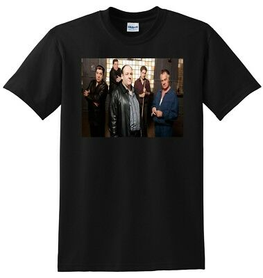 38ecb433d *NEW* SOPRANOS T SHIRT cast photo poster tee S M L or XL adult sizes