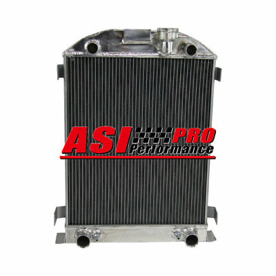 3 ROW Aluminum Radiator For 1932 Ford Flathead Truck Engine V8 w/Free Cap PRO