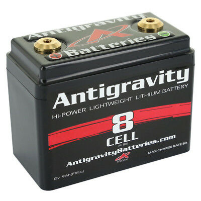 Antigravity Lithium Lightweight 240CCA 8-Cell Small Case Battery - AG801