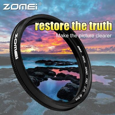 ZOMEI Ultra Slim 40.5-86mm Glass Cpl Circular Optical Lens Filter Accessory Kit