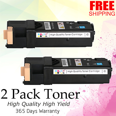 Dell 2150 2150CDN 2150CN 2155CN 2155CDN High Yield Capacity Toner Cartridges
