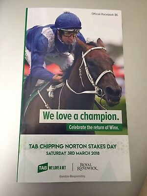 WINX Start 33 race book 2018 Chipping Norton Stakes