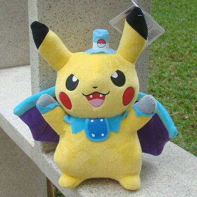 "Pokemon Go Cosplay Bat Pikachu 10.5"" Plush Toy Collectible Stuffed Animal Doll"