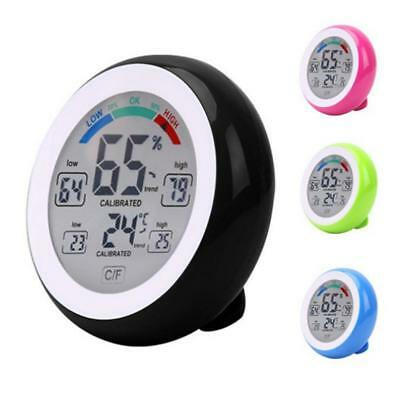 Digital Thermometer Hygrometer Temperature Humidity Max Min Value Trend