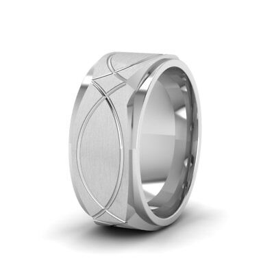Friends of Irony Black Tungsten Carbide Pirate Ring 8mm Wedding Band Anniversary Ring for Men and Women Size 12