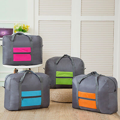 Big Foldable Travel Storage Luggage Carry on Organizer Hand Shoulder Duffle Bags