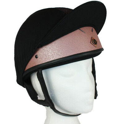 Charles Owen Rose Gold Pro Plus Ii ***limited Edition*** Riding Hat