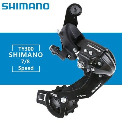 NEW Shimano Tourney RD-TY300 6/7-Speed Rear Derailleur Road MTB Bike Direct-Atta