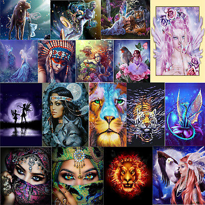5D Diamond Painting Embroidery Cross Craft Stitch Kit Home Room Wall Art Gifts