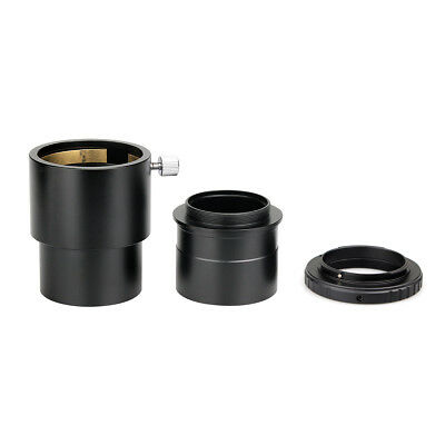 """New 2-Inch Telescope Extension Tube+ Nikon T-Ring Mount Adapter+ 2"""" to T Adapter"""