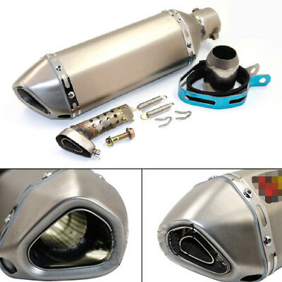 Universal 38-51mm Exhaust Muffler Pipe Silencer for Motorcycle Street Dirt Bike