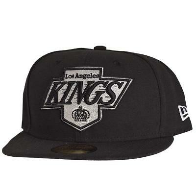 New Era Official 59FIFTY NHL Los Angeles Kings 7 Big One Black Cap LA