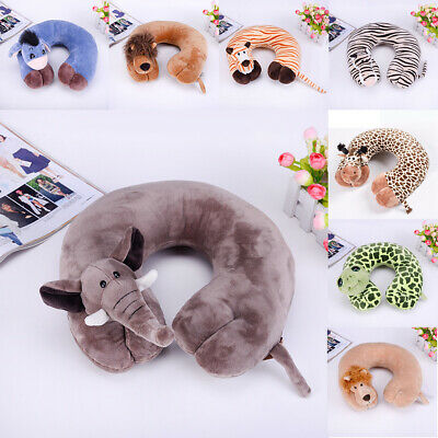 Super Soft Travel Neck Cushion Pillow Polyester Camping Holiday Sleep Pillow