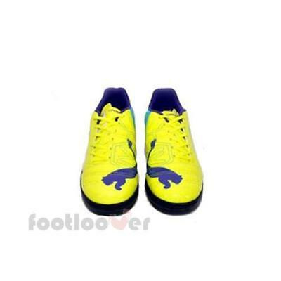 low priced 9db49 172a4 Scarpe Calcetto Puma evoPOWER 4 TT Jr 102965 04 Bambino Yellow Fluo-Violet  IT