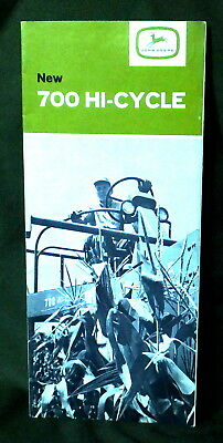 Vintage Brochure New John Deere 700 Hi-Cycle