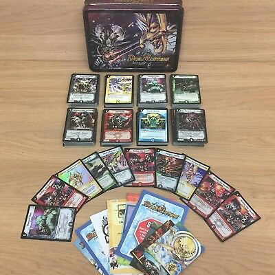 Bundle of 300+ Duel Masters Cards Including 10x Holos + Collectors Set Tin