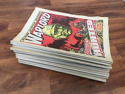 Warlord 1978 almost Complete Year 50 Issues