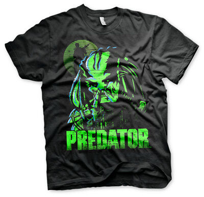 Officially Licensed Predator Men's T-Shirt S-XXL Sizes (Black)