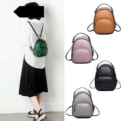 Real Leather Small Mini Backpack Rucksack Daypack Travel bag Purse Cute Bag 72711770975d1