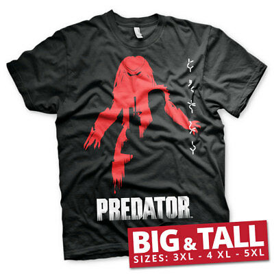 Officially Licensed The Predator Poster Big and Tall 3XL,4XL,5XL Men's T-Shirt