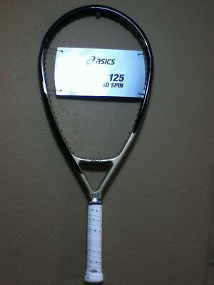 "Asics 125 Super Oversize Unstrung Tennis Racket 4-3/8"" Super Deal Buy It Now"