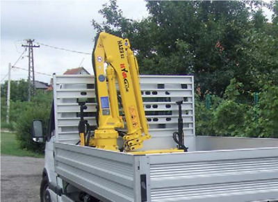 New Hyva HA28E2 Hiab Small Crane Suitable for 3500 kg Pick Ups and Trailors
