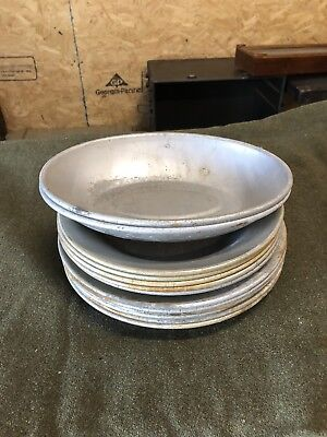 1951/1952 US Mirro and US AS Co mess hall plates