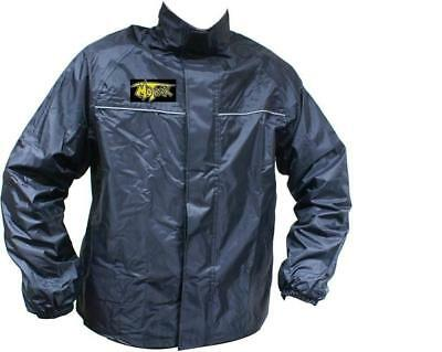 Motrax Motorcycle Bike Scooter 100% Waterproof Unlined Over Jacket New