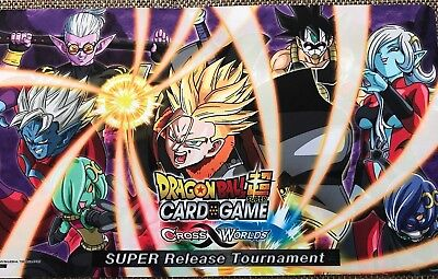 Dragonball Super Card Game! - Cross Worlds! - Release Tournament Playmat